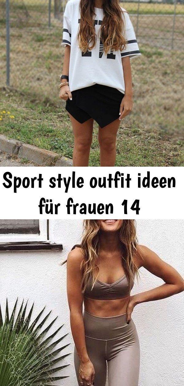 Sport Style Outfit Ideen für Frauen #frauen #ideen #outfit #sport #style   Frauen Mode 14 Stylische...
