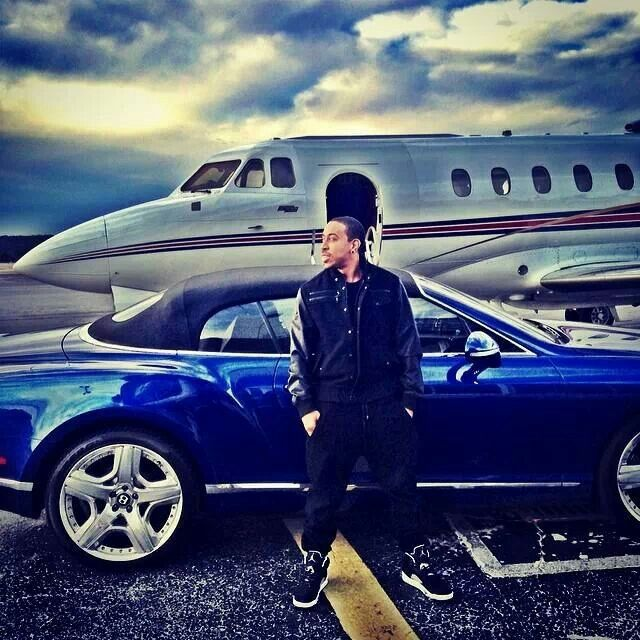 I always thought Ludacris was cool but then I saw his Bentley and I knew for sure we could hang ;) His picture said dream big!  2.14.14
