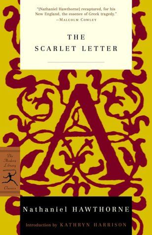 The Scarlet Letter-My favorite book ever