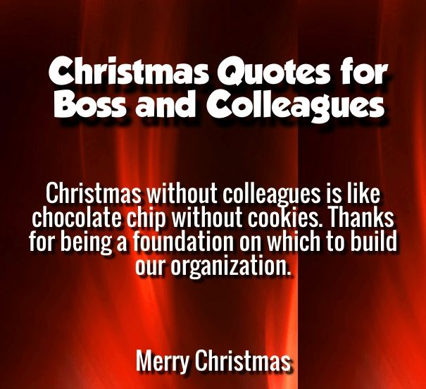 christmas message to colleagues | Merry Christmas Quotes Wishes ...