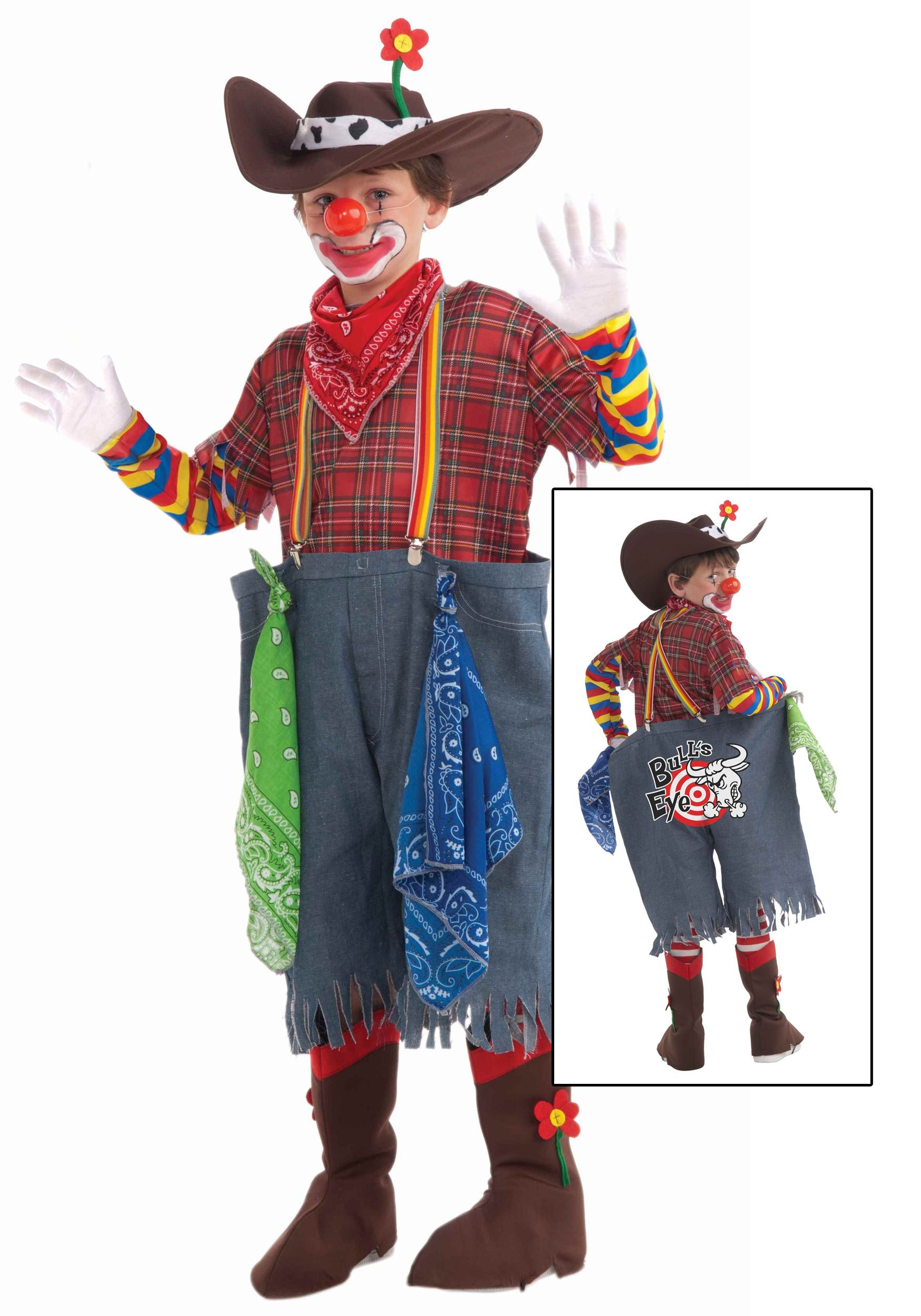 Home Funny Costumes Funny Kids Costumes Child Rodeo Clown