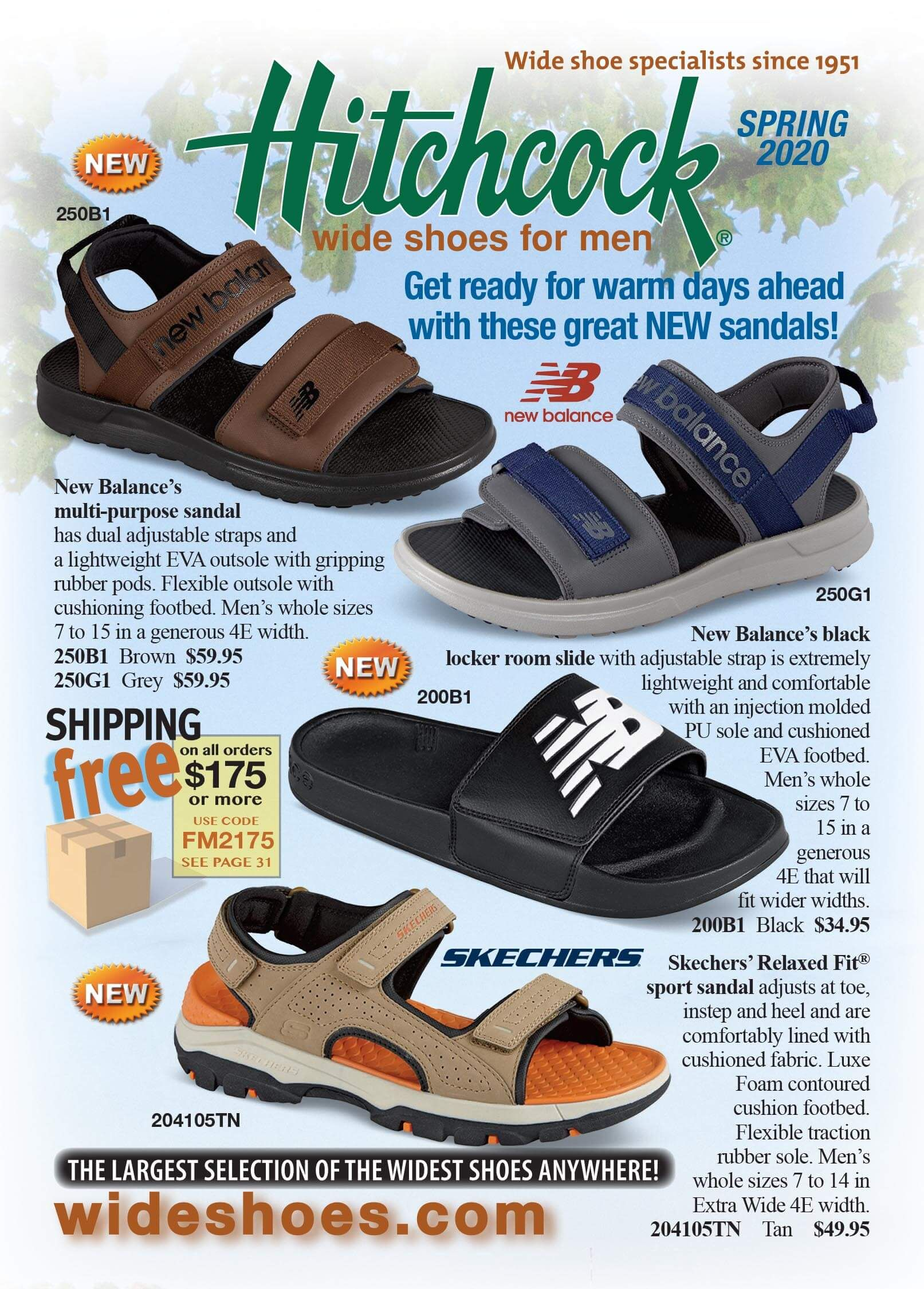 Our Spring 2020 Flyer Is On Its Way Find A Large Selection Of Spring And Summer Styles Just In Time For Sprin In 2020 Wide Shoes For Men Mens Wide Sandals Wide Shoes