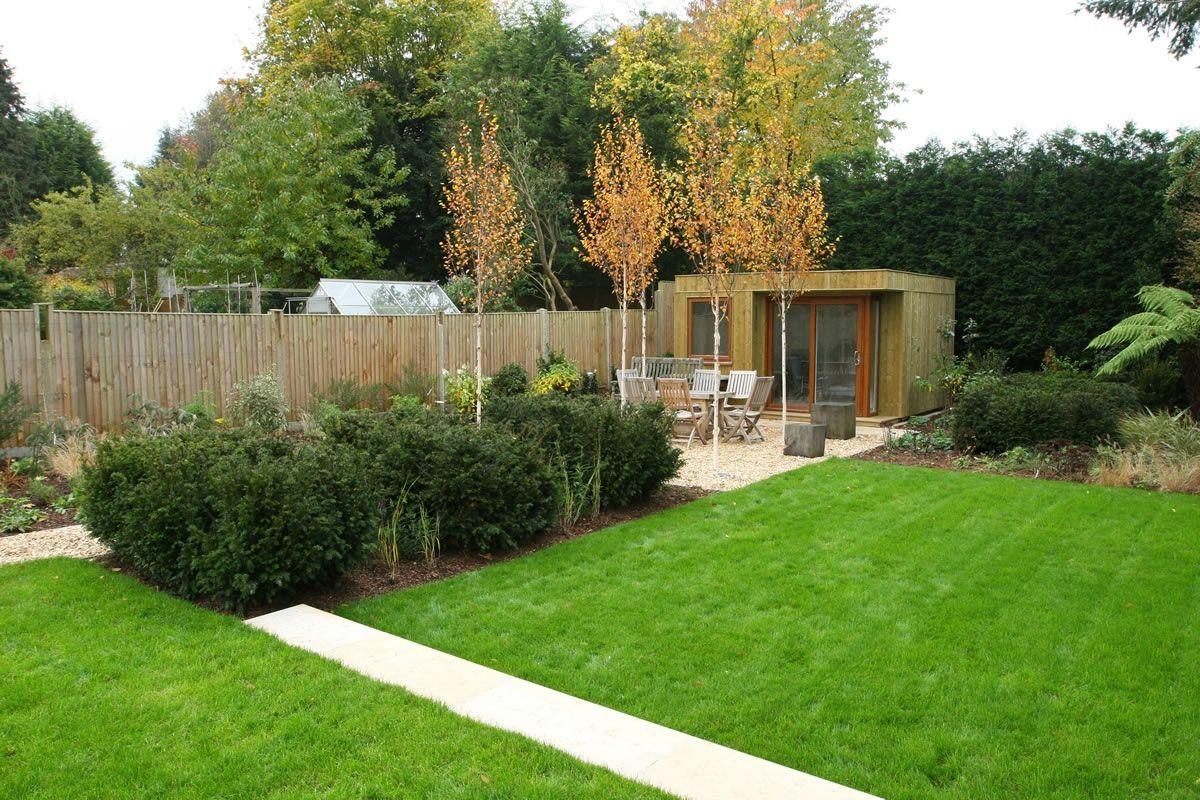 Image 2 Lawn Design Landscape Design Contemporary Garden Design