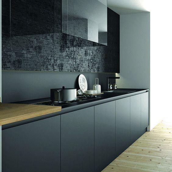 Houten Keuken Creative Kitchen Backsplash Ideas: Afbeeldingsresultaat Voor Zwarte Ikea Keuken