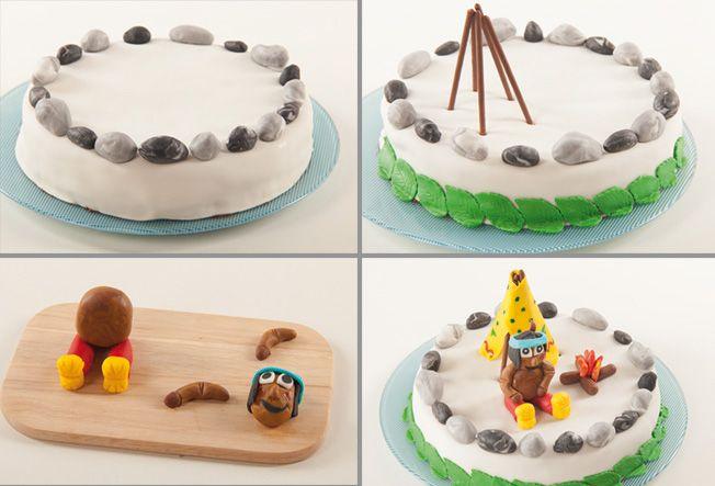 Tutorial Fur Yakari Motiv Torte Yakari Kindergeburtstag Torte