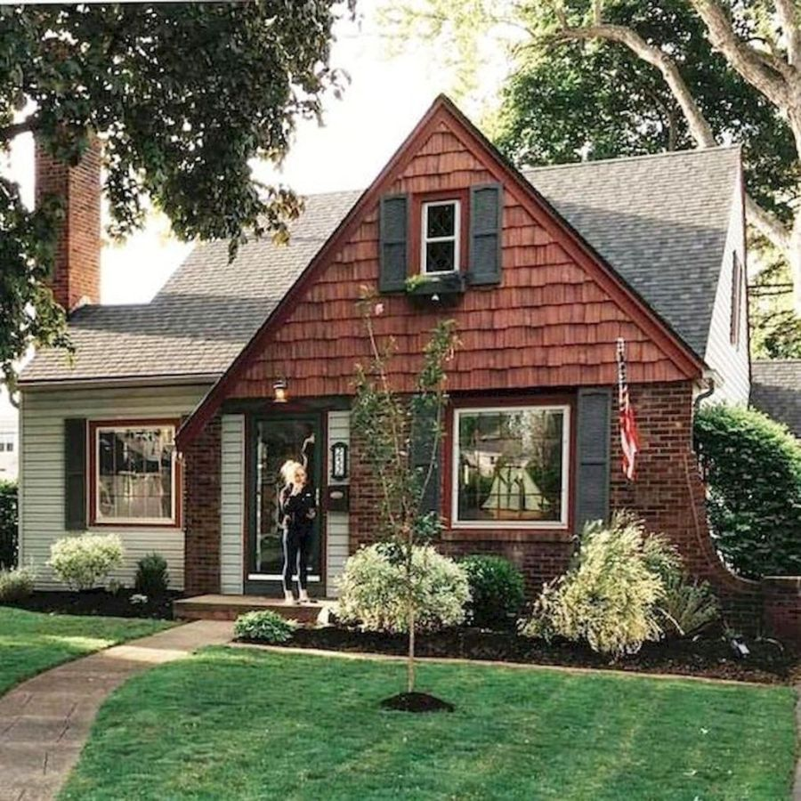 33 Stunning Small House Design Ideas Magzhouse Cottage House Exterior Small Cottage Homes Small Cottage House Plans
