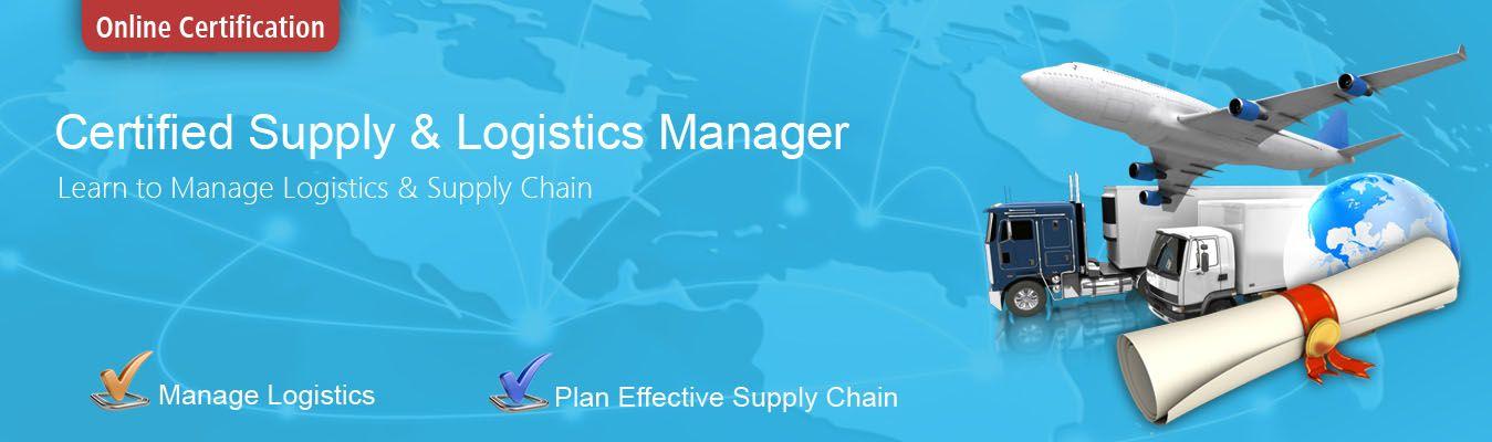 Supply Chain Logistics Certification Supply Chain Logistics