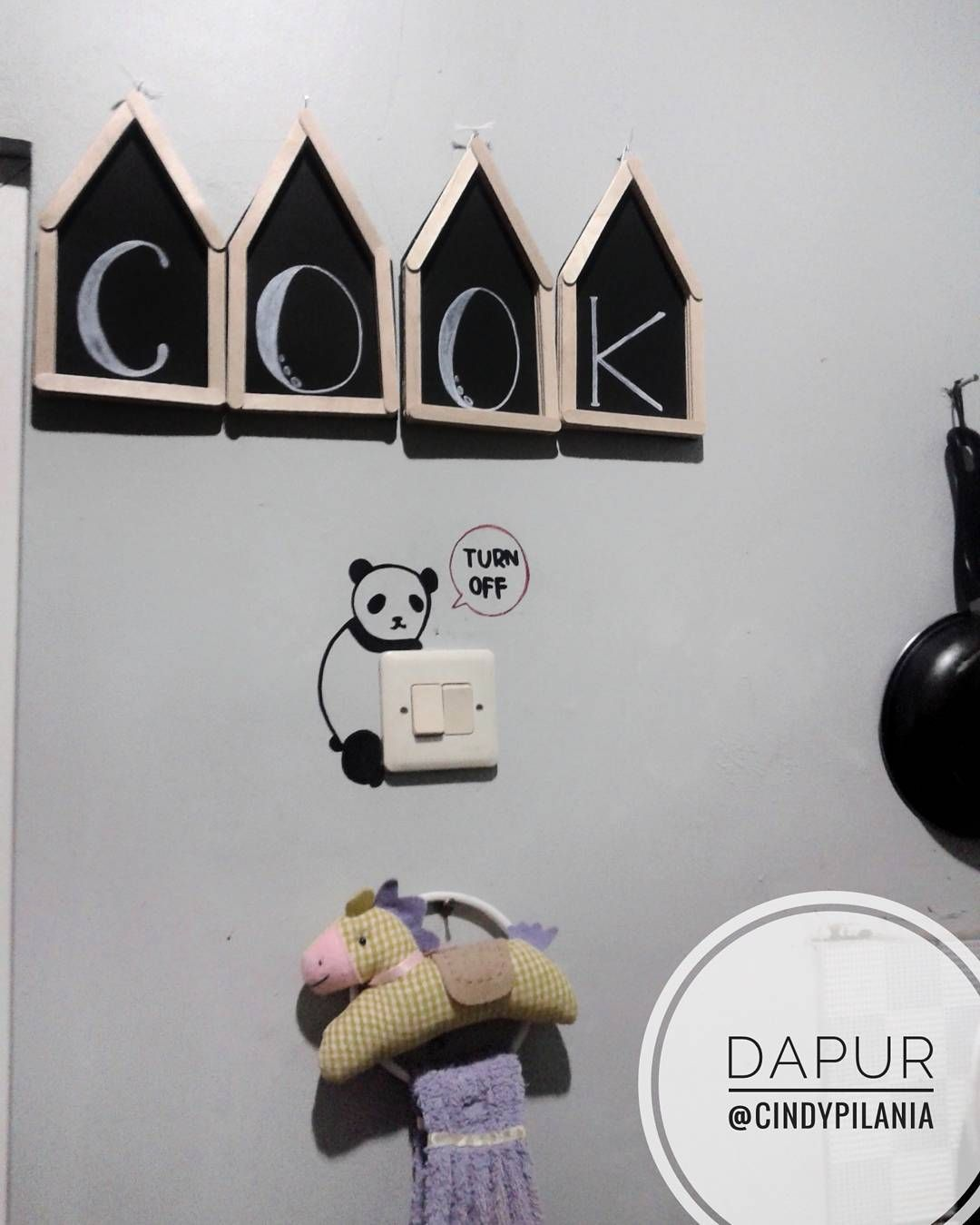 Dekorasi Dapur Dengan Hiasan Dinding Tulisan Dari Stik Es Krim Honeycombs Dream Bedroom Laundry