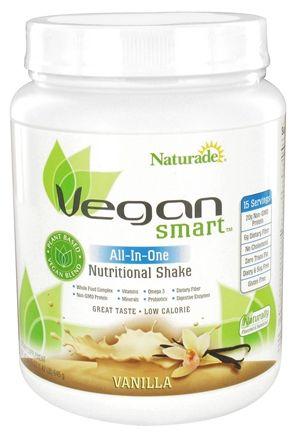Buy Naturade - VeganSmart All-In-One Nutritional Shake Vanilla - 22.75 oz. at LuckyVitamin.com