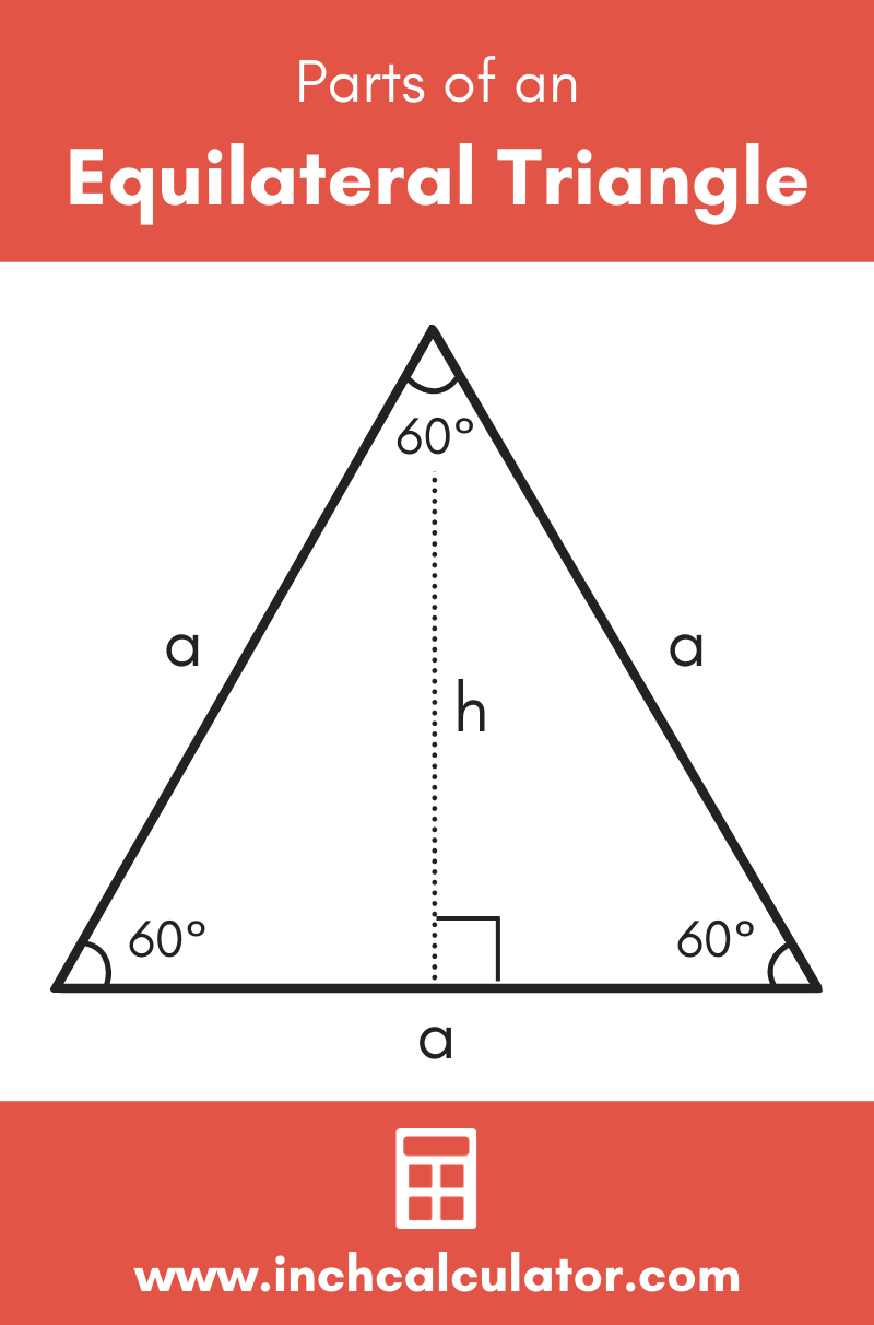 Equilateral Triangle Calculator Solve Any Part Inch Calculator In 2021 Math Methods Math Genius Math Lessons