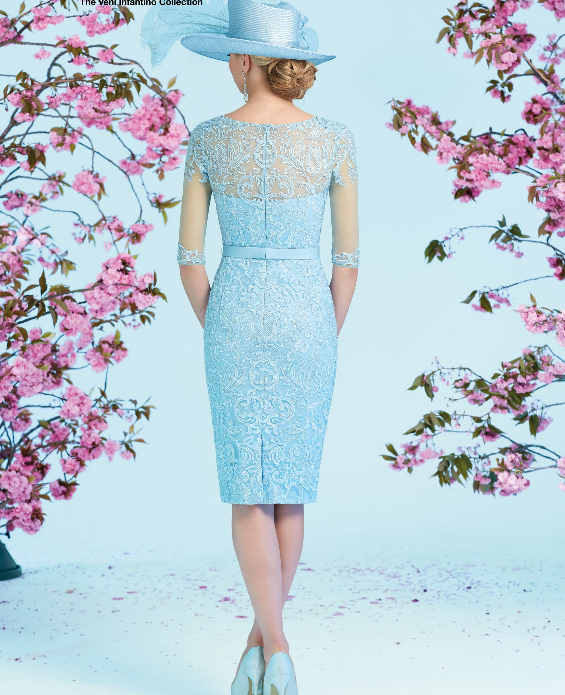 Ronald Joyce Dress with Coat 991230, colour Blue. | estilo ...