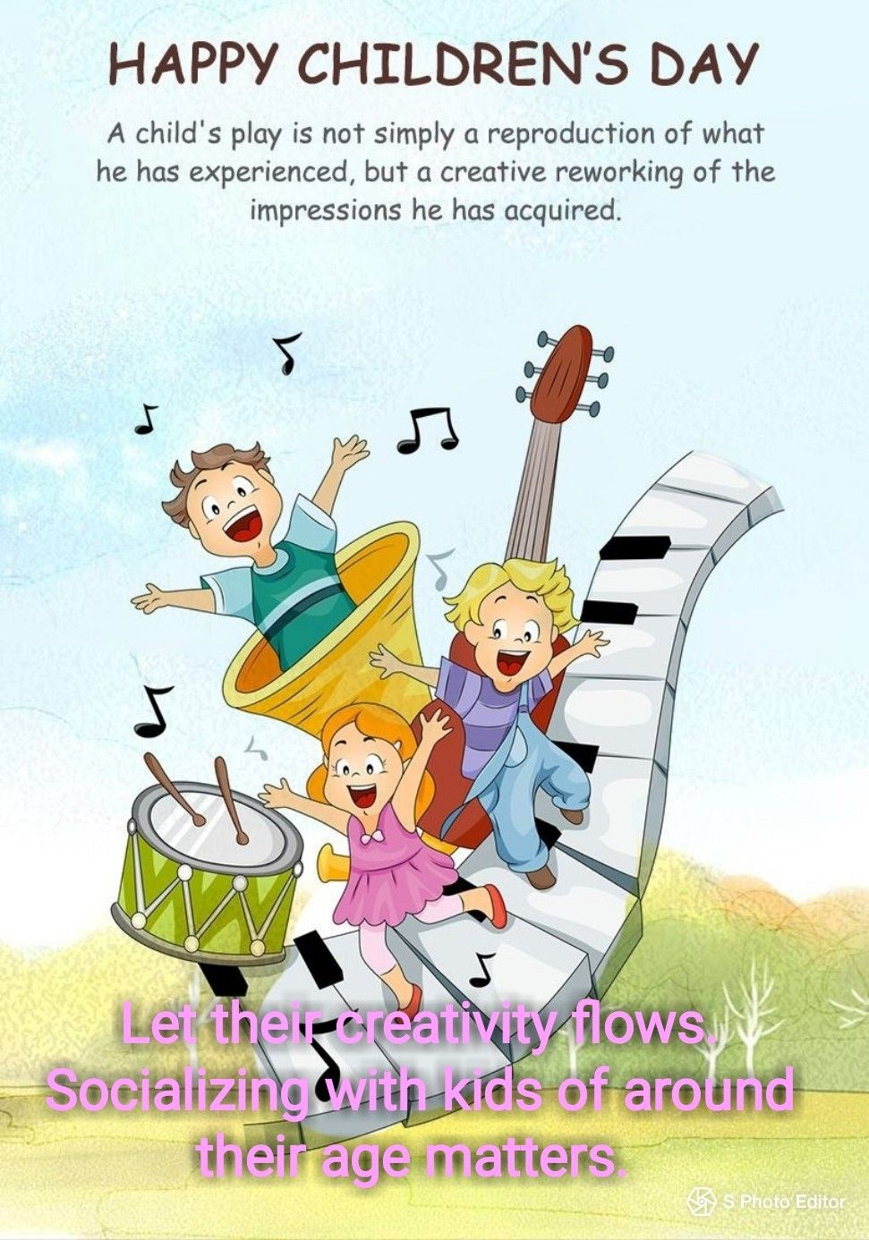 Pin by Yoon Soh on children related | Happy children's day, Happy kids, Childrens  day quotes