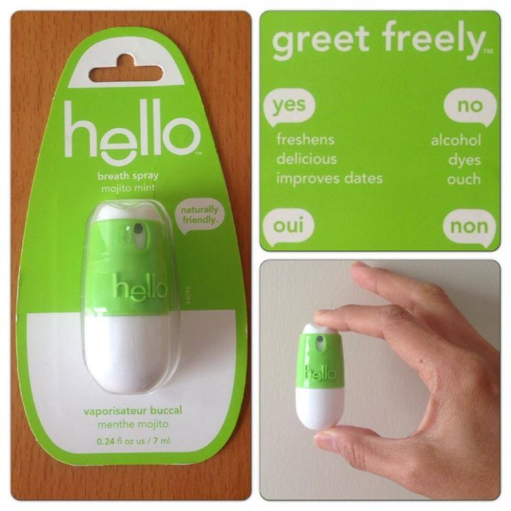 Mojito mint breathspray breathspray helloproducts with