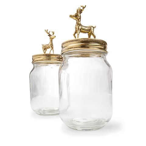 Vintage Jar With Stag Lid Kmart Vintage Jars Jar Home Accessories