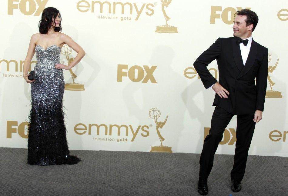 Jessica Pare and Jon Hamm   Mad Men.   Pinterest