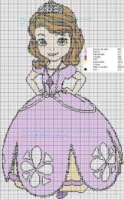 Alfabeto Princesa Sofia En Punto De Cruz Punto De Cruz Disney Hada De Punto De Cruz Punto De Cruz