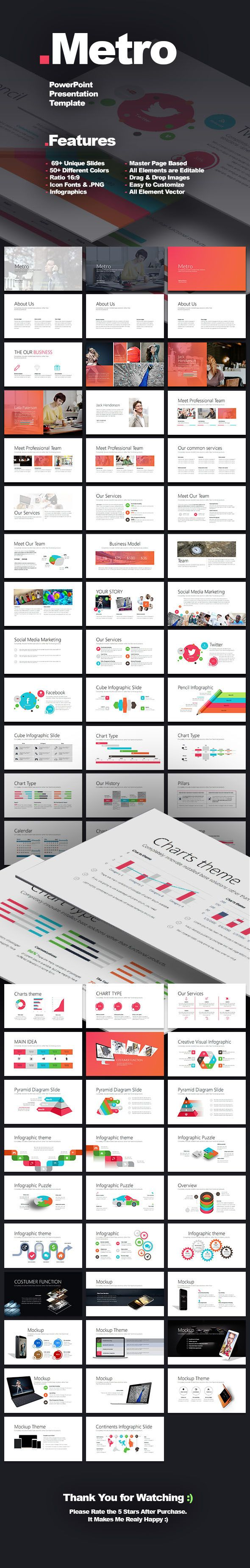 Metro presentation template presentation templates powerpoint metro presentation template toneelgroepblik Image collections