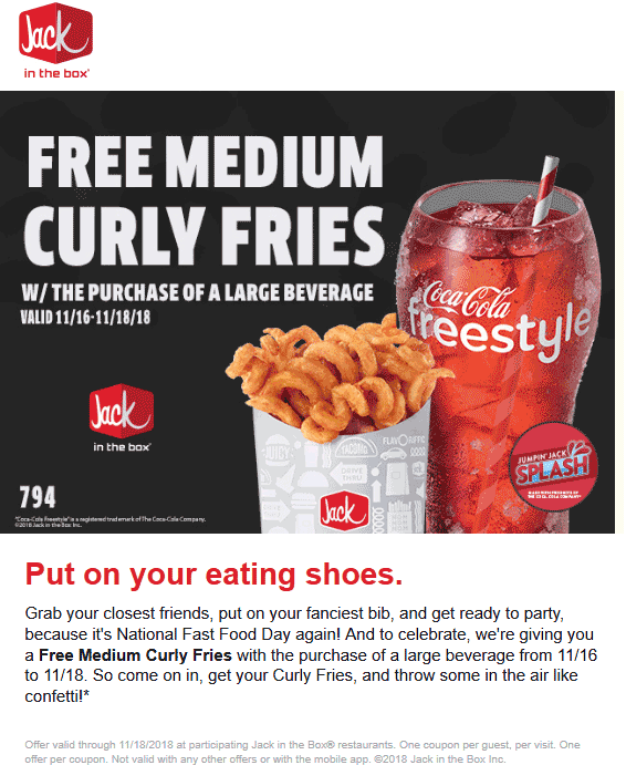 Jack in the Box 🆓 Coupons & Shopping Deals! | Jack in the ...