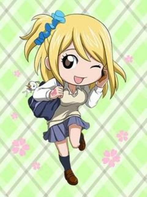 Lucy Heartfilia Chibi chibi cat lucy lucy heartfilia pinterest