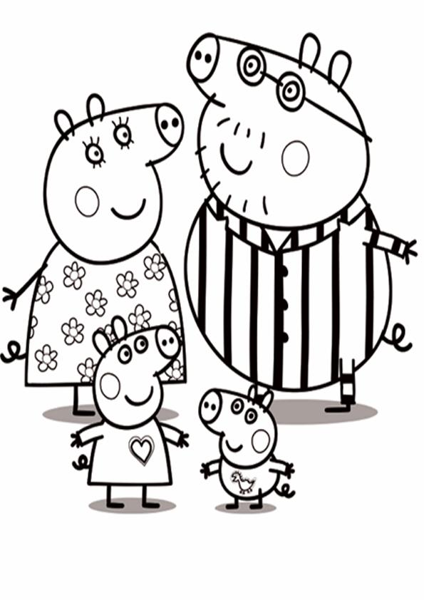 ... Peppa Pig Para Colorear Peppa Pig Imprimir Y Pintar Actualizado Pasado  El 4 De Mayo ...