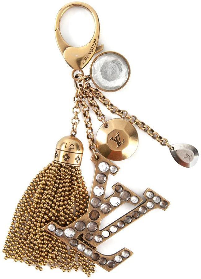 Monogramm Love Taschen Anhänger Schlüsselanhänger Key Bag Charms Neu