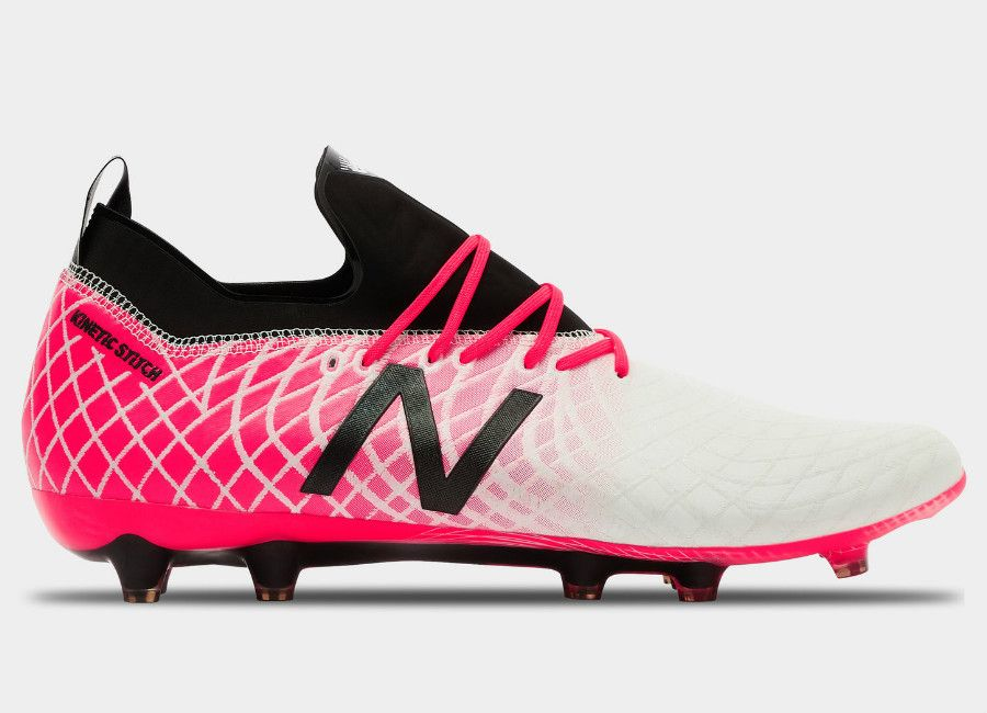 9e7ed42fd57d6 #nbfootball #footballboots New Balance Tekela Pro FG - White / Bright Cherry
