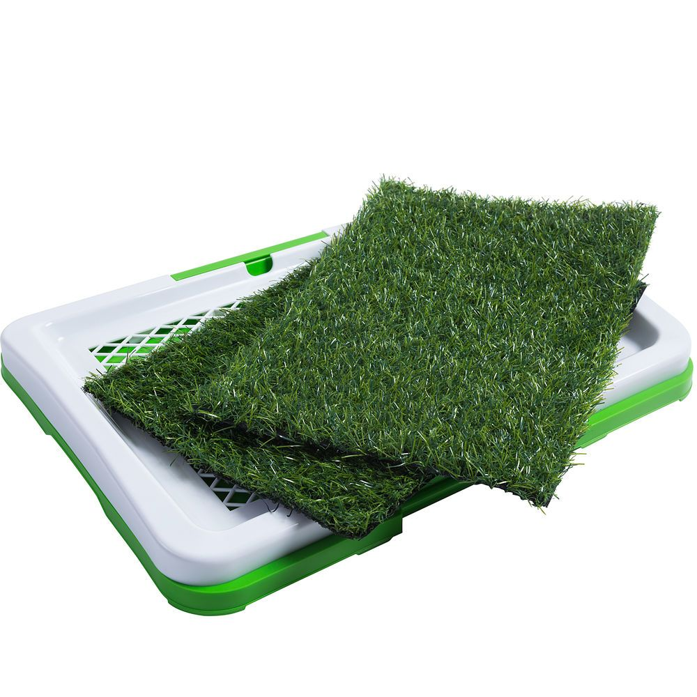 Dog Indoor Potty Trainer Grass Pee Pad For Pet Cat Puppy Outdoor