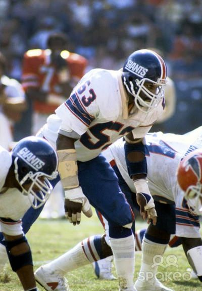 promo code 67fea a6515 Harry Carson in old school Giant's uniform #nyg | NY ...