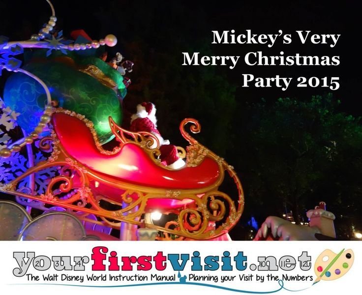 Review The 2017 Edition of Mickey\u0027s Very Merry Christmas Party