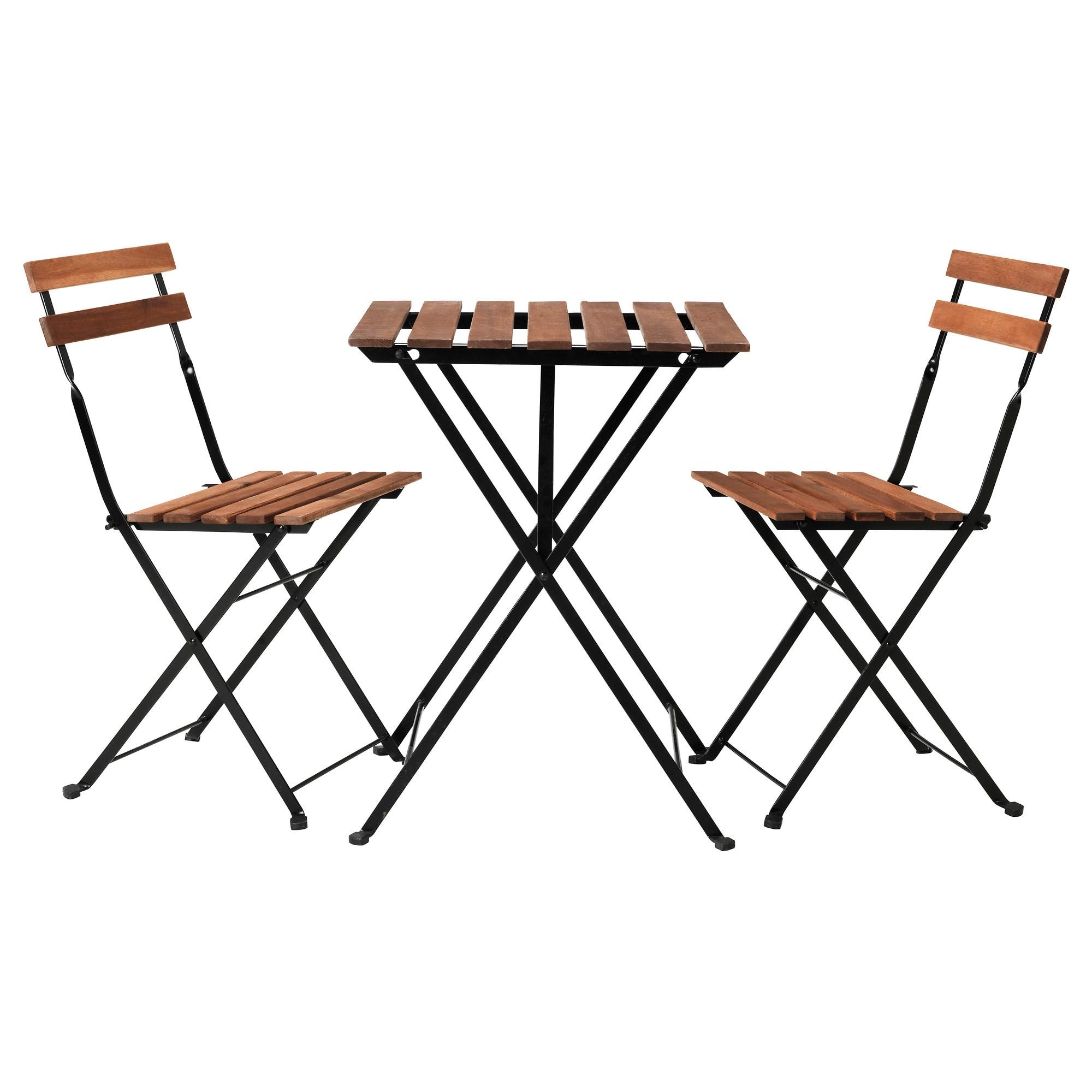 Astonishing Ikea Tarno Black Acacia Gray Brown Stained Steel Table 2 Ibusinesslaw Wood Chair Design Ideas Ibusinesslaworg