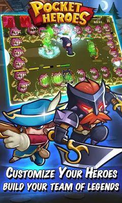 Pocket Heroes APK Download MOD Unlimited Money Gems Goblins