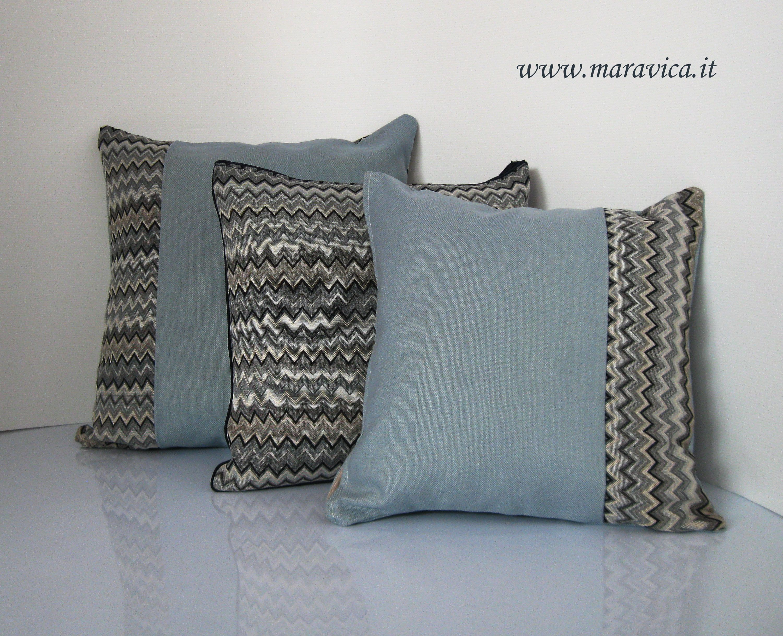 Cuscini Moderni.Cuscini Arredo Moderni Tessuto Chevron Missoni Modern Furniture