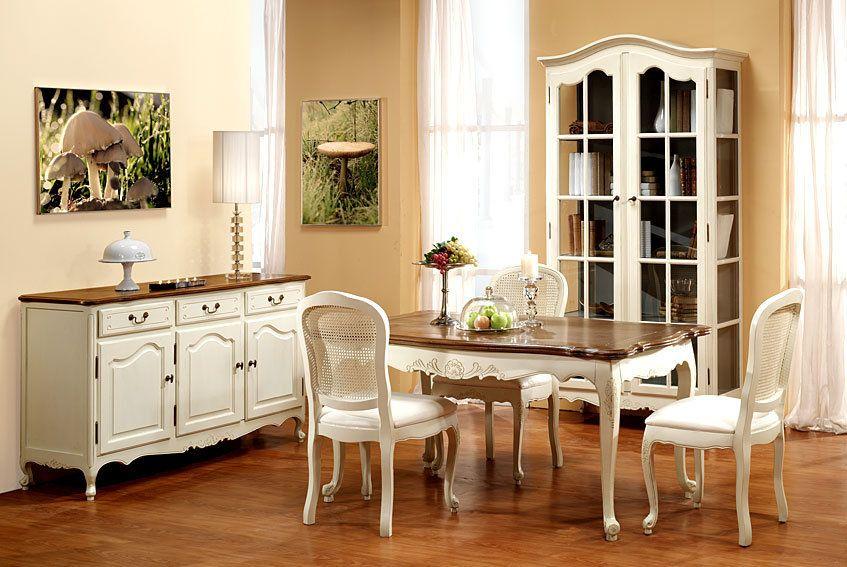 ambiente comedor nantes ii muebles de estilo vintage