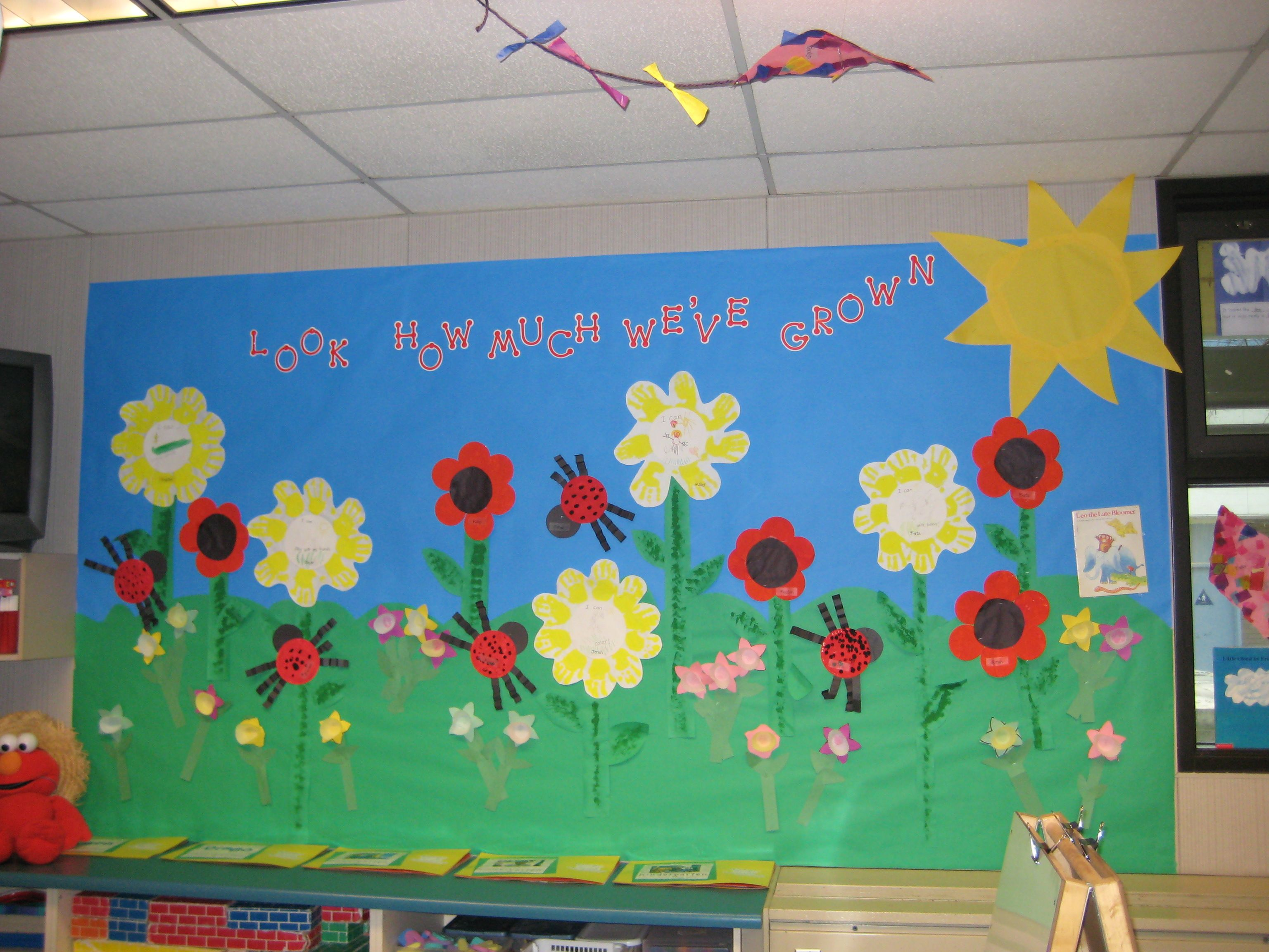 Classroom Ideas For Nursery : Open house bulletin boards seasonal