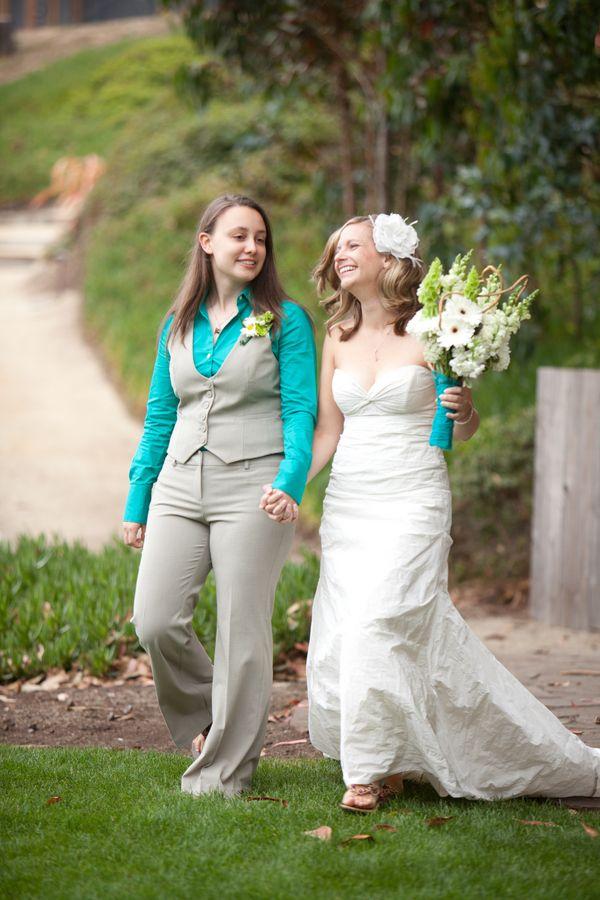 lesbian | Offbeat Bride | lovely beautiful celebrations of loving ...
