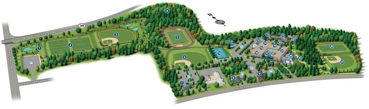 La Salle College High School Campus Map Campus Shots Campus Map