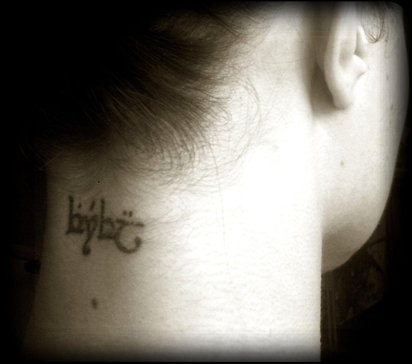 Tattoos, Elvish Tattoo