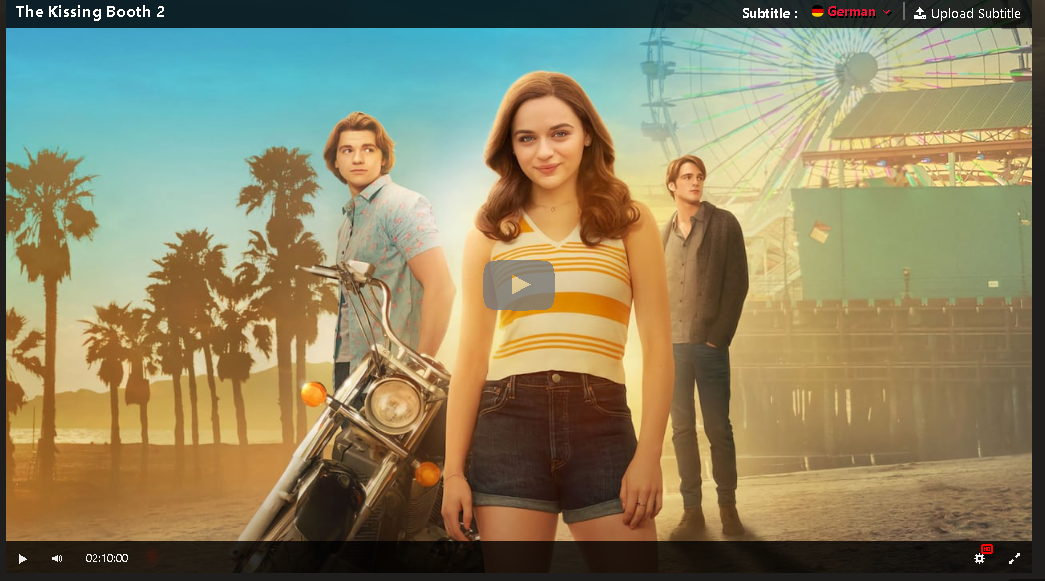 Hd The Kissing Booth 2 2020 Ganzer Film Deutsch In 2020 Kissing Booth Joey King Full Movies Online Free