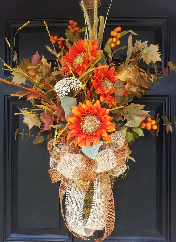 Large Fall Autumn Grapevine Door Wall by TheChicyShackWreaths, $125.00