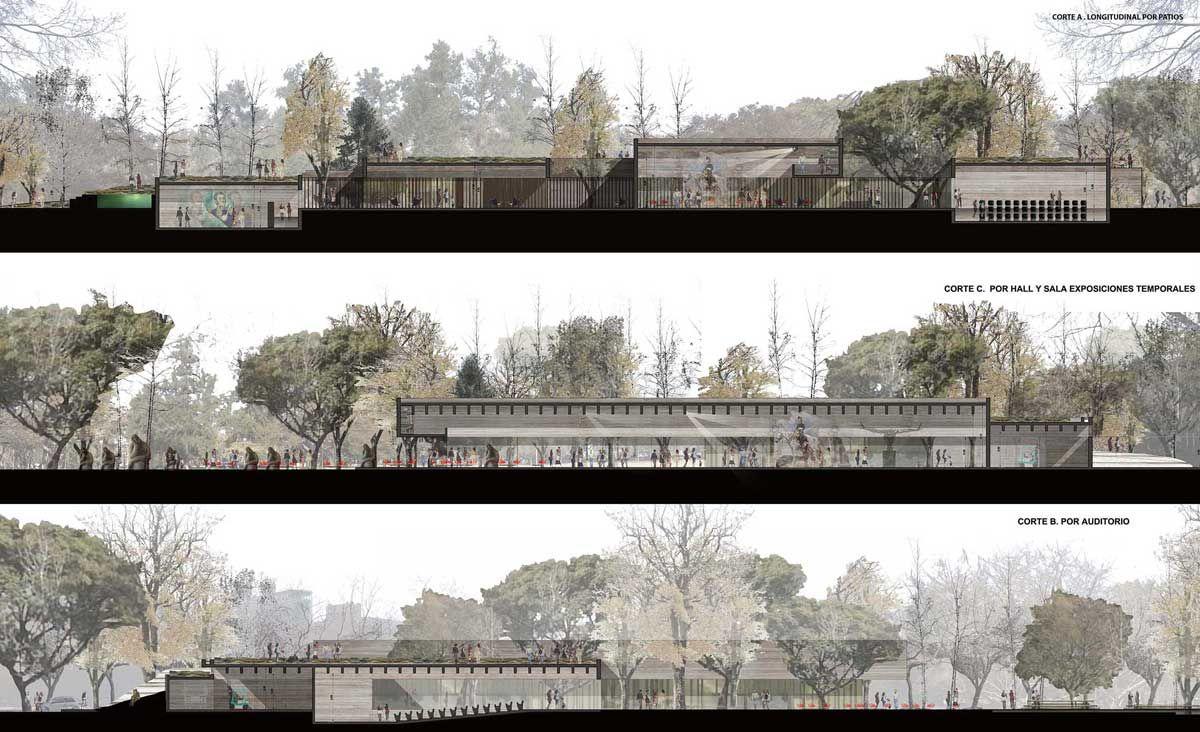 Corte arquitectura concurso buscar con google for Cortes arquitectonicos