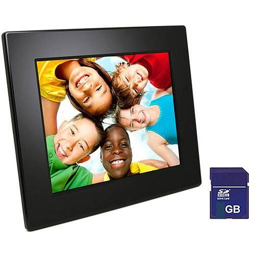 The FileMate Joy Series 8in Digital Photo Frame allows you to display your favorite photos in an attractive frame. The 8in frame features built-in memory card slots for easy connection to... More Details