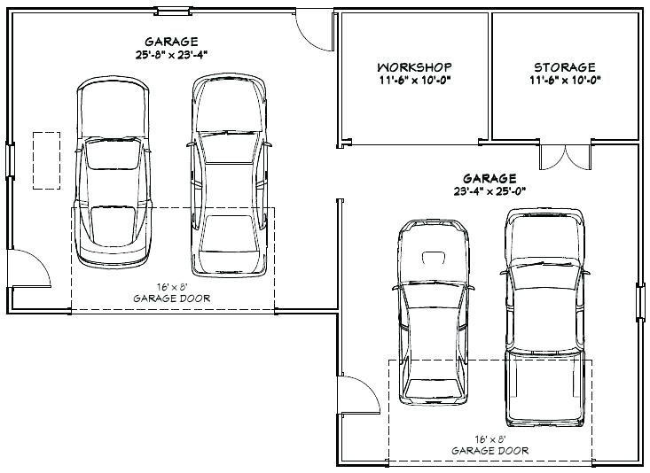 Garage size 4 car garage size 4 car garage dimensions 4
