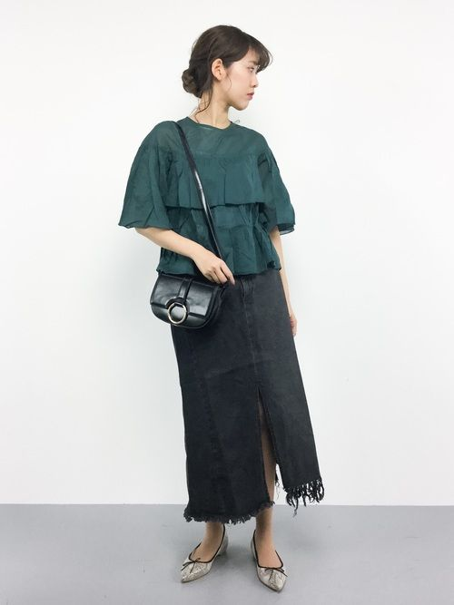 ゆきちさんの「フロントリングショルダーバッグ【PLAIN CLOTHING】(PLAIN CLOTHING)」を使ったコーディネート