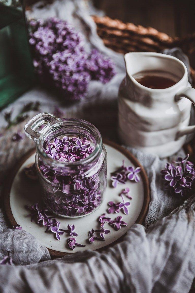 Lilac Honey Infusion Ephemeral Flower Essence Chews Local Recipe Lilac Flower Essences Purple Aesthetic
