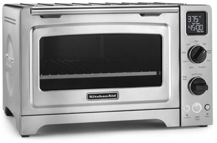 Kitchenaid 1 cubic foot stainless steel convection