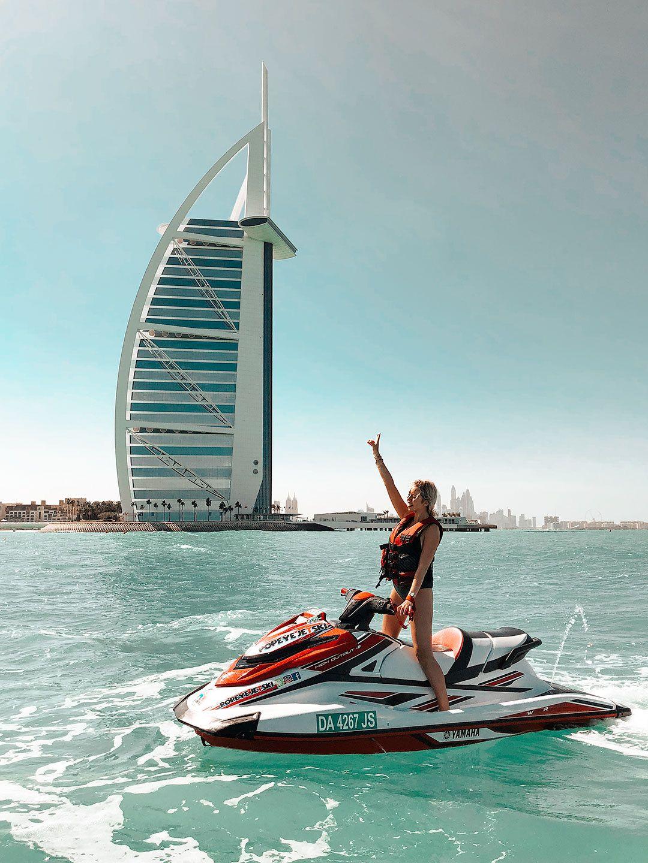 Second trip to Dubai! Loved the jet-skis! - Milkywaysblueyes Fashion Influencer