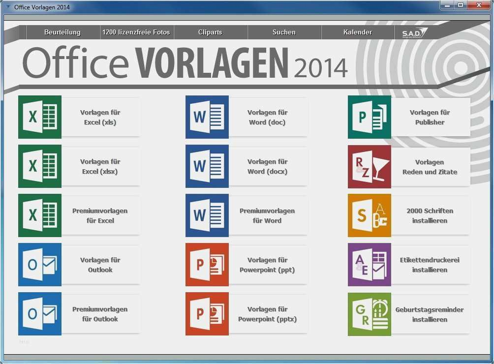Office Templates Themes