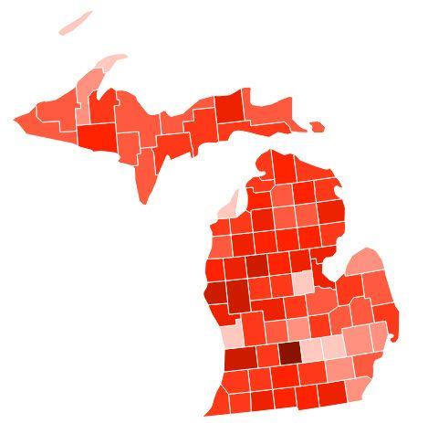 Sex offender registry michigan map