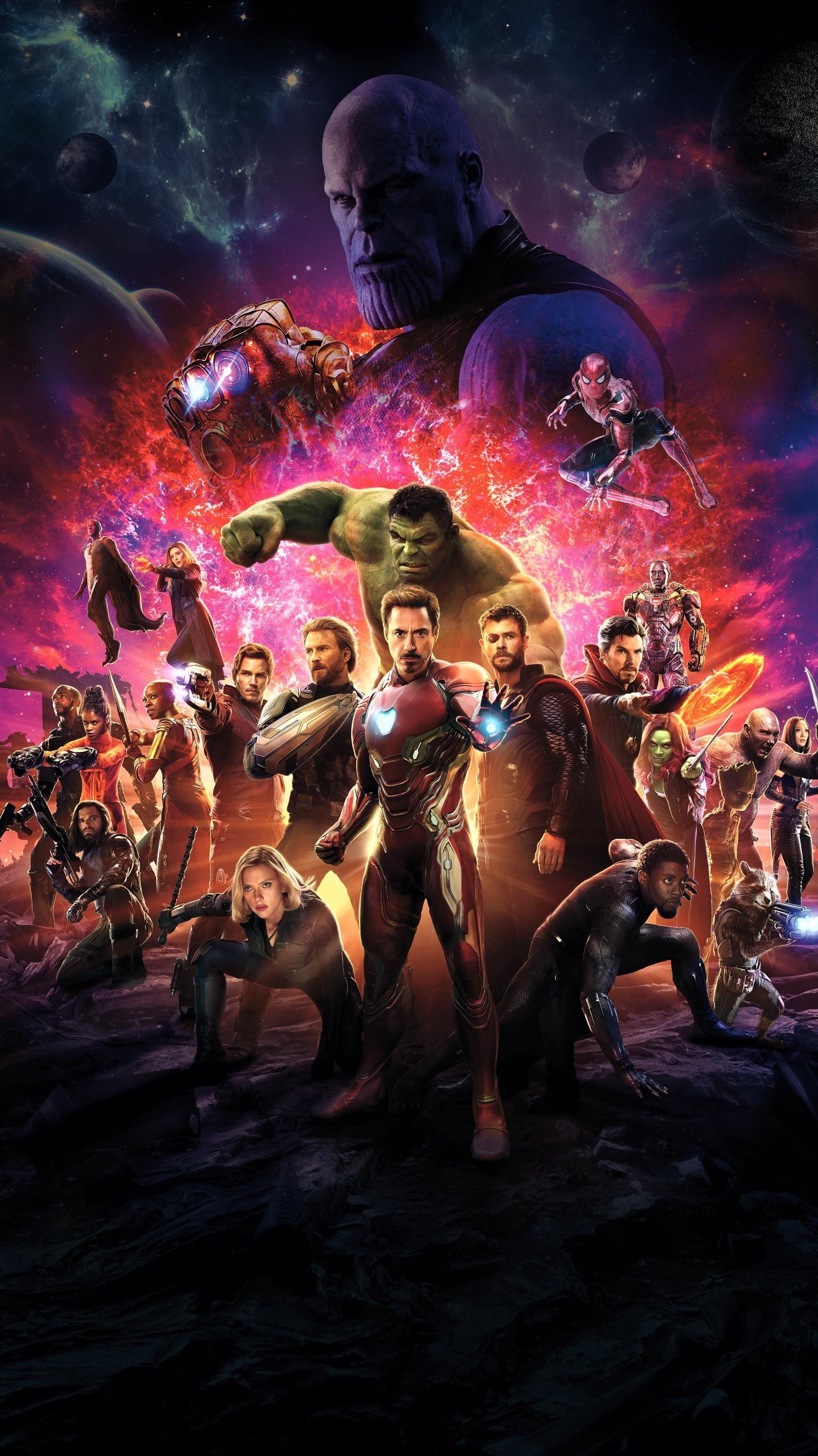 Avengers Infinity War 2018 Phone Wallpaper Vingadores Marvel
