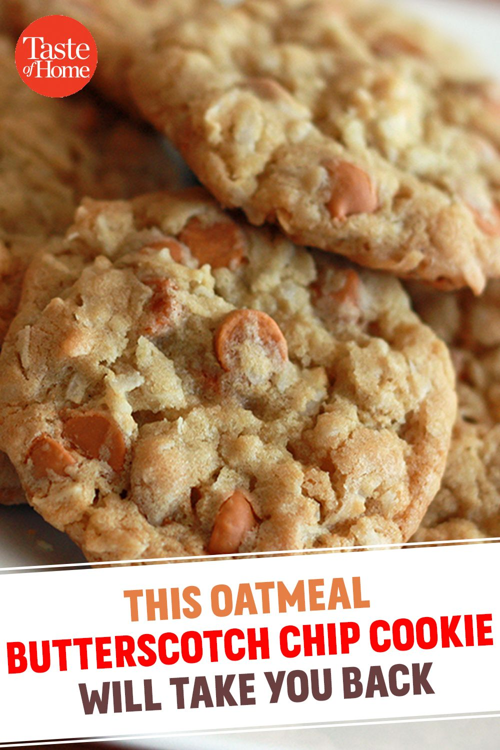 Trust Us—You Need to Bake These Oatmeal Butterscotch Chip Cookies ASAP #cookies